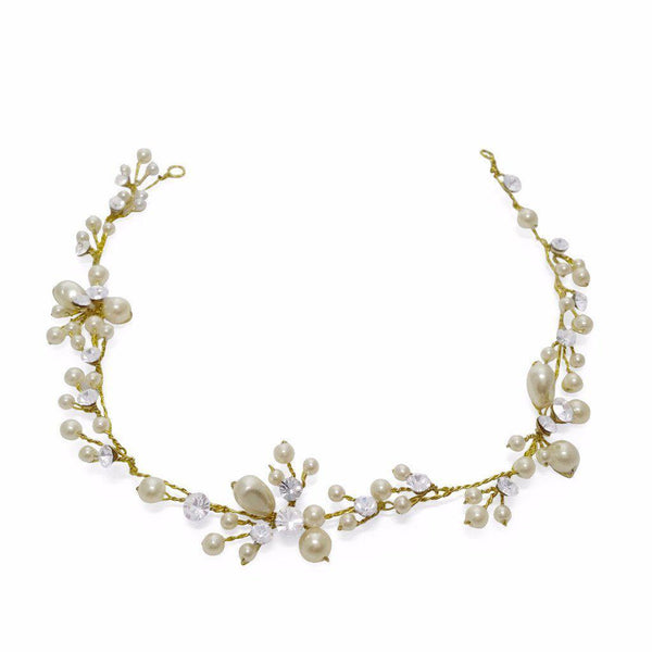 Betsy Gold Hair Vine-Starlet Jewellery