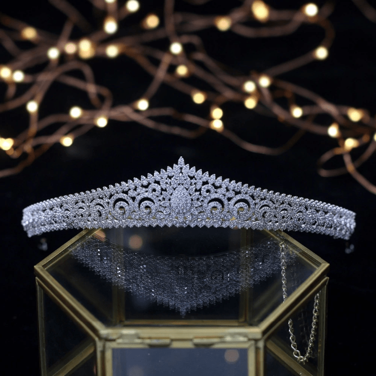 Alison Petite Luxury Tiara - Olivier Laudus Wedding Jewellery