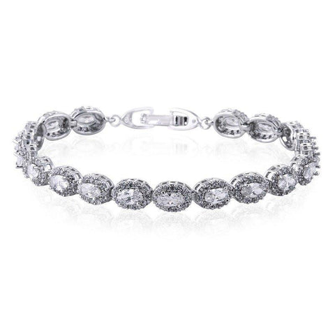 Amalia Simulated Diamond Bracelet