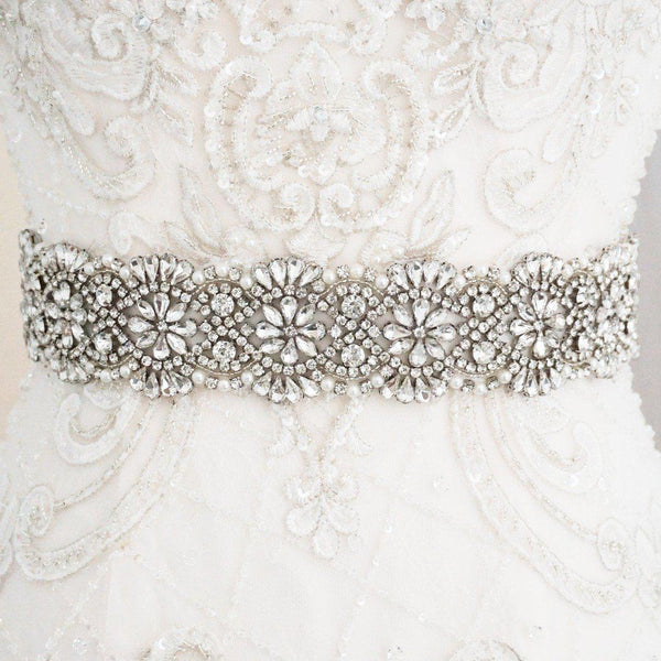 Amalia Diamante Wedding Belt