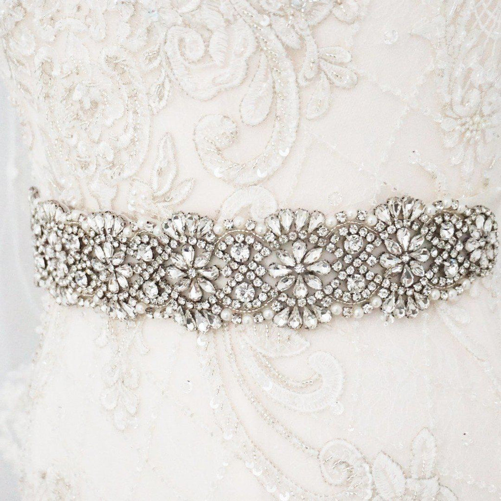 Amalia Diamante Wedding Belt-Starlet Jewellery