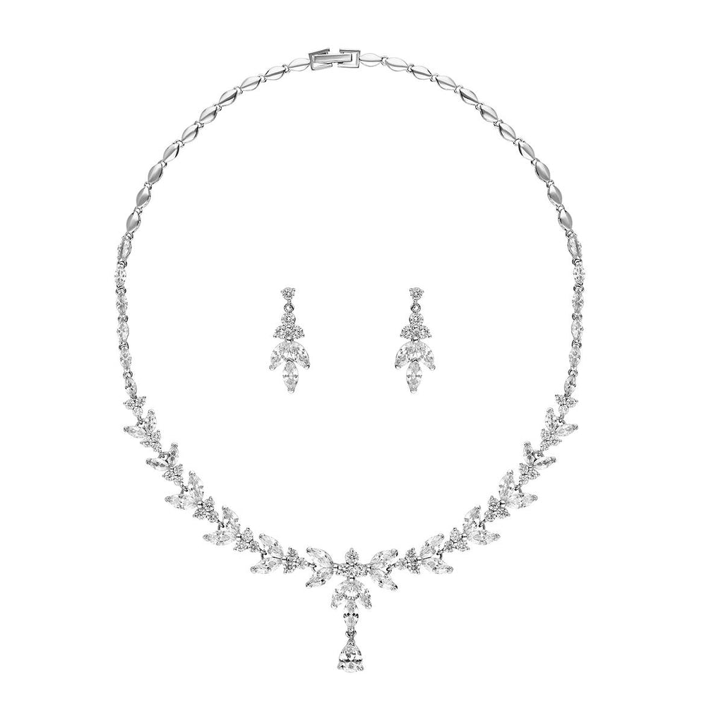 Amalia Necklace Set-Necklaces-Starlet Jewellery