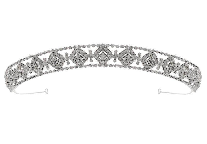 Bardot Tiara (best seller)-Starlet Jewellery