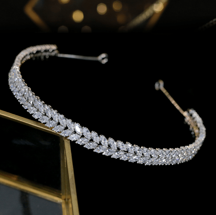 Charlize Alice Band - Olivier Laudus Wedding Jewellery