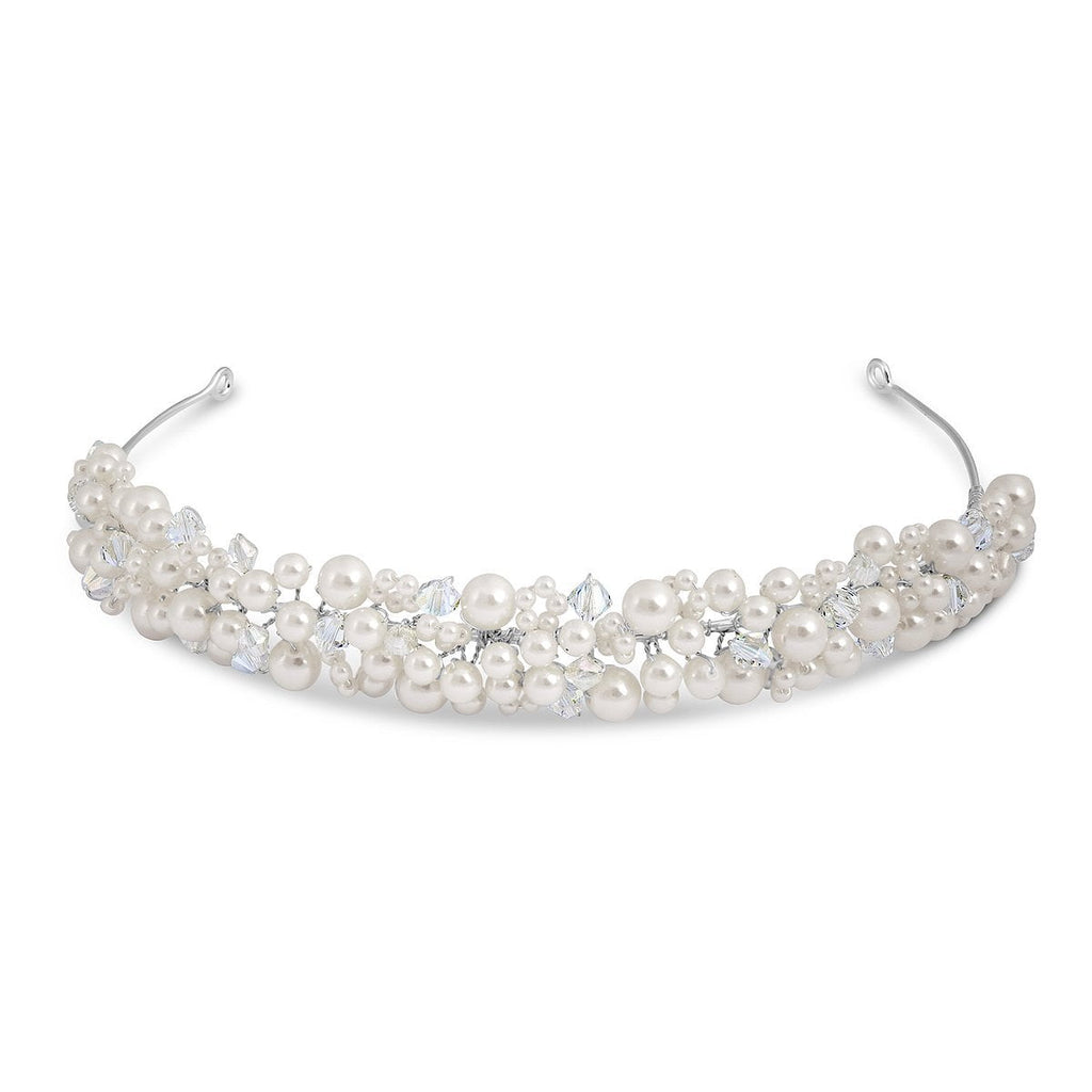Diana Pearl and Crystal Headband