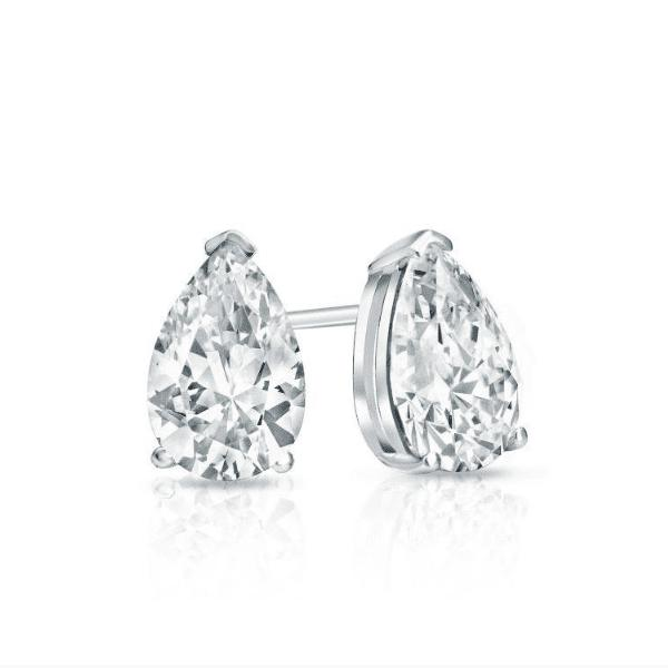 Divine Simulated Diamond Studs-Starlet Jewellery