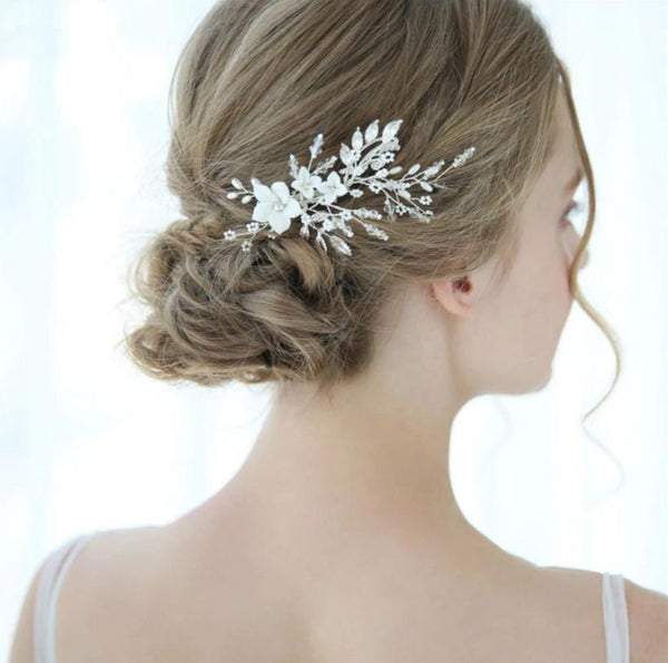 Divine Pearl Hair Comb (Small)