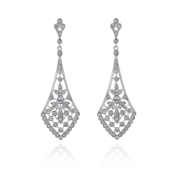 Donna Art Deco Earrings-Starlet Jewellery