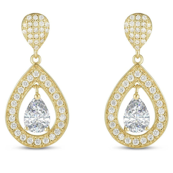 Asia Gold Earrings-Starlet Jewellery