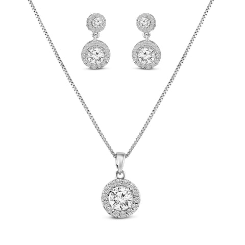 Emily Pendant and Earrings set-Starlet Jewellery
