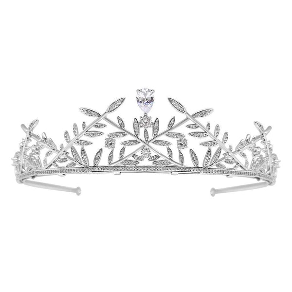 Eternal  Cubic Zirconia Wedding Tiara