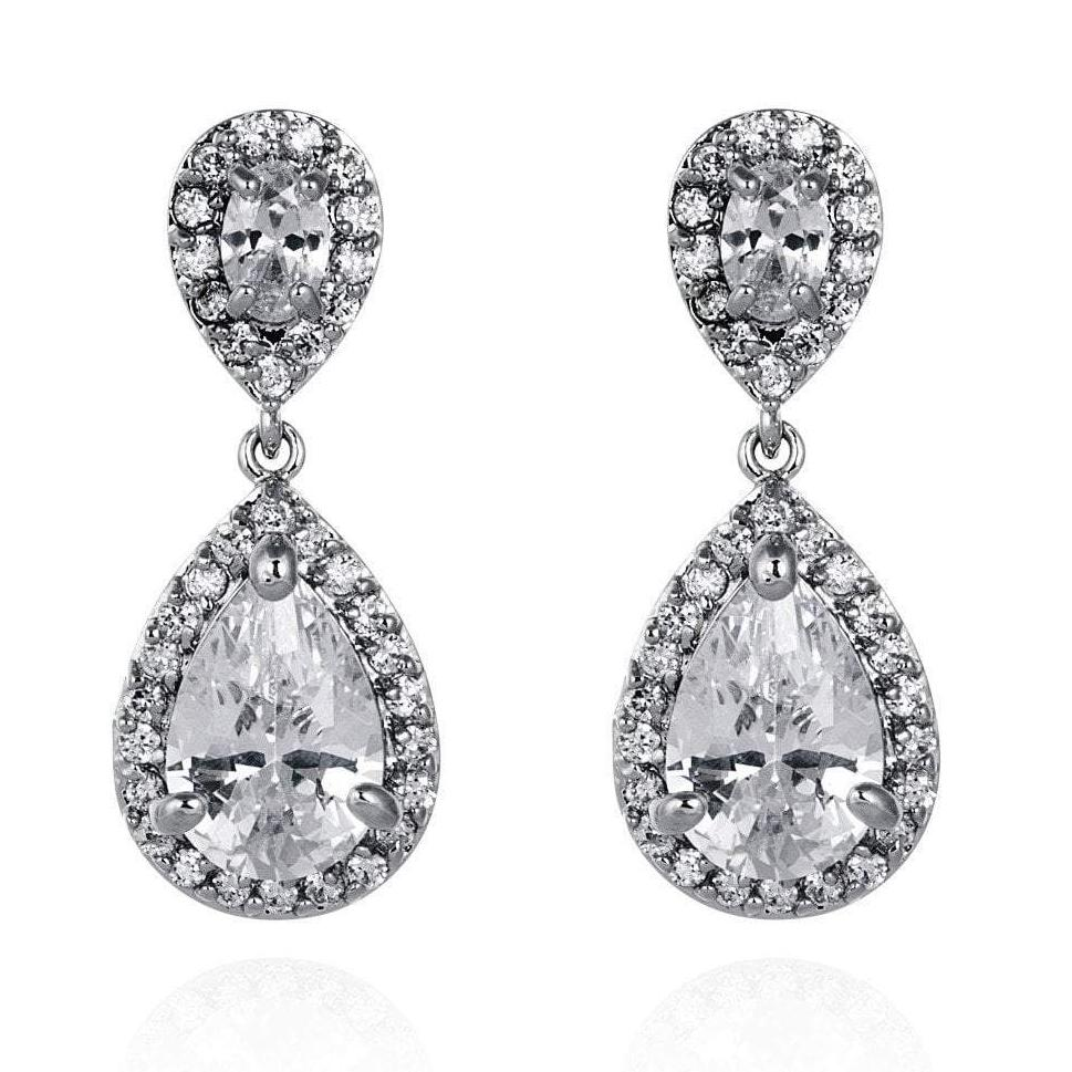 Amalia Cubic Zirconia Earrings