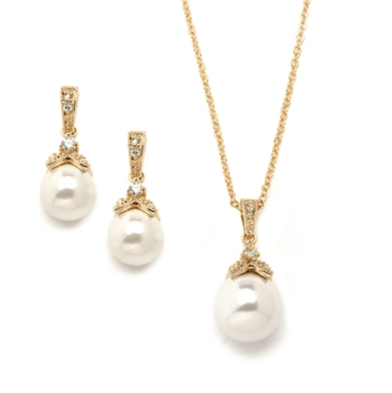 Gatsby Gold Pendant Set