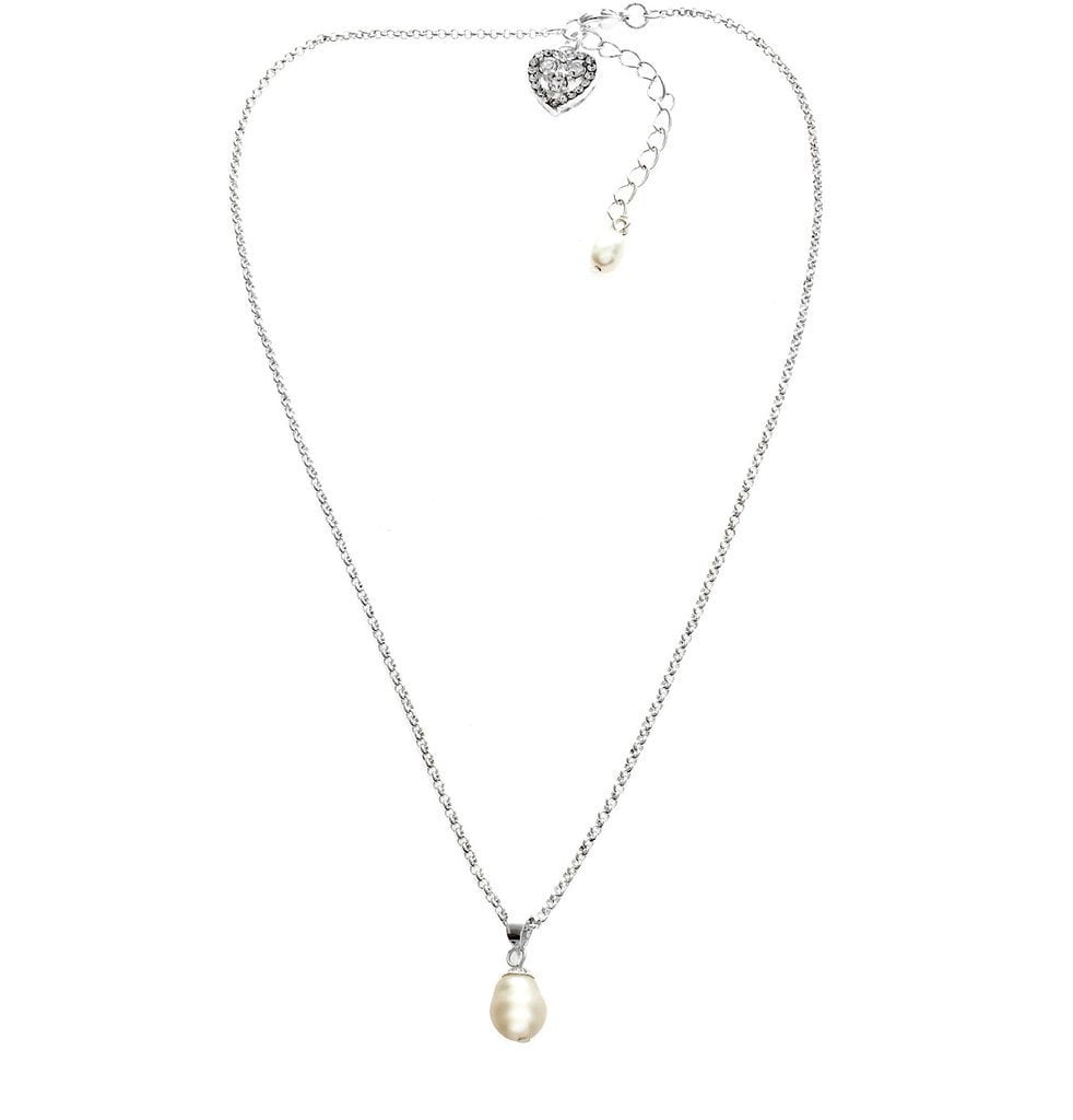 Hepburn Freshwater Pearl Pendant Set-Earrings-Starlet Jewellery