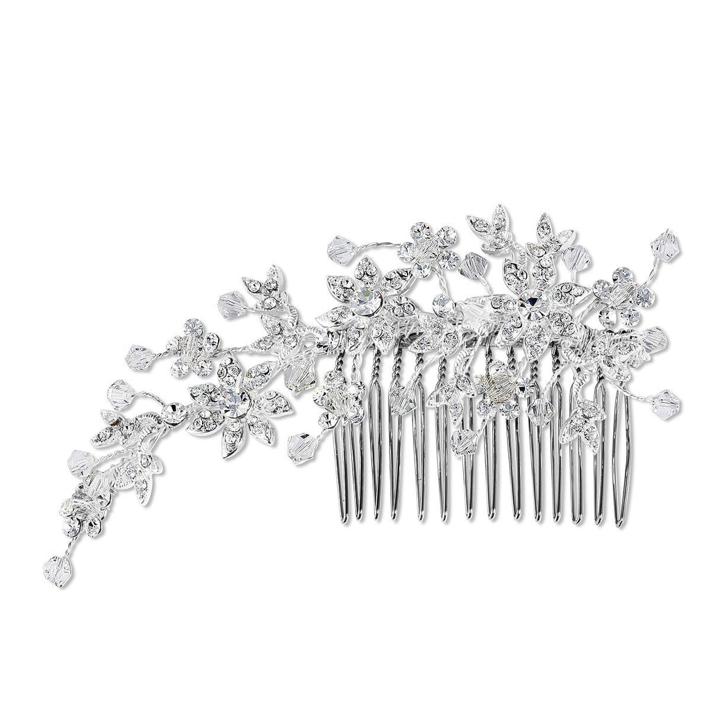 Hollywood Crystal Hair Comb - New!-Starlet Jewellery