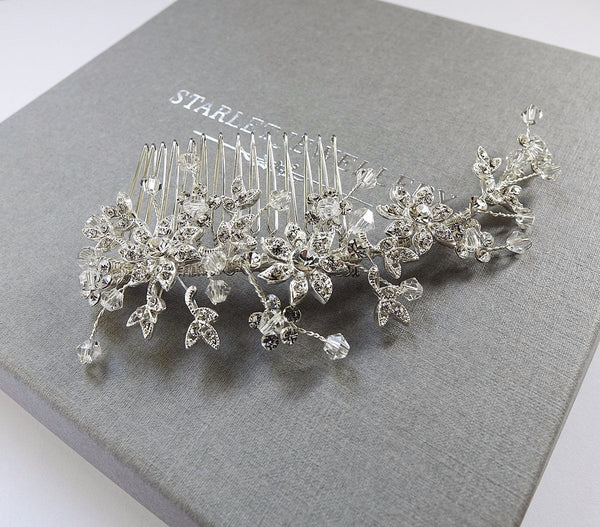 Hollywood Crystal Hair Comb - New!