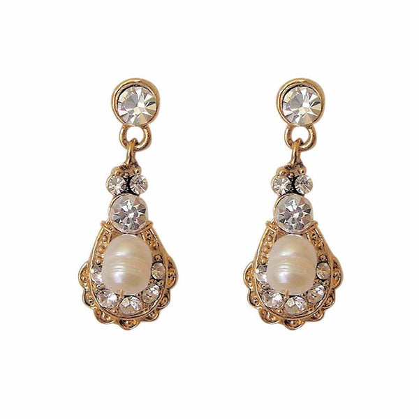 Kensington Earrings Gold-Starlet Jewellery