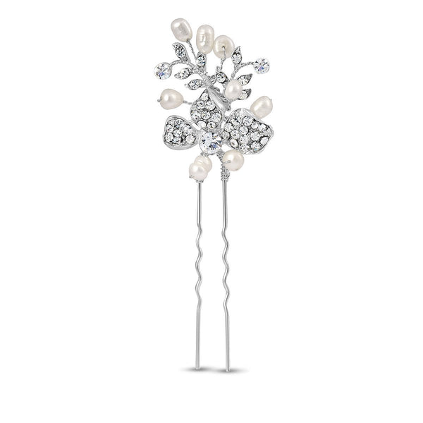 Kensington Silver Hair Pins