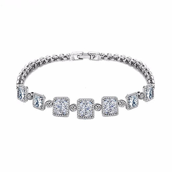 London Simulated Diamond Bracelet