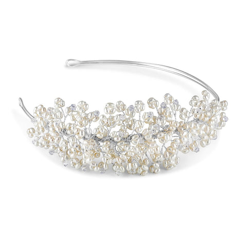 Monaco Side Tiara-Starlet Jewellery