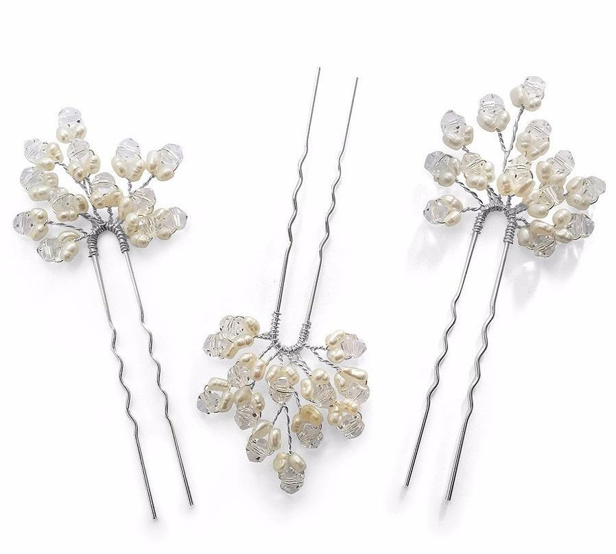 Monaco Hair Pins Set of 3-Starlet Jewellery