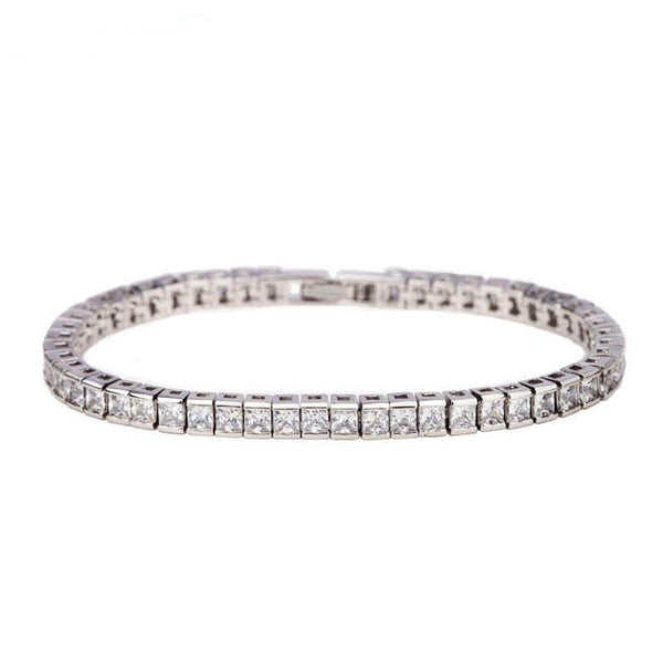 Milan Simulated Diamond Bracelet-Bracelets-Starlet Jewellery