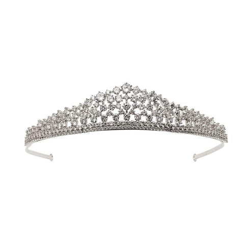 New York Simulated Diamond Tiara