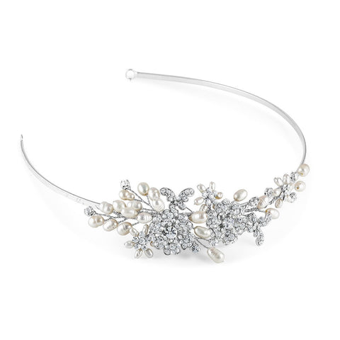 Papillon Side Tiara-Starlet Jewellery