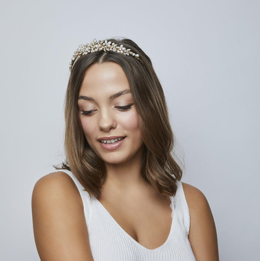 Paris Tiara Gold