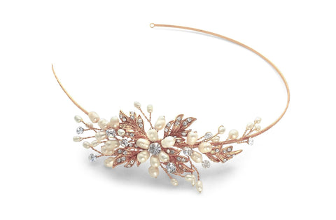 Paris Side Tiara Gold