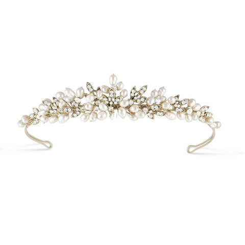 Paris Tiara Gold-Starlet Jewellery