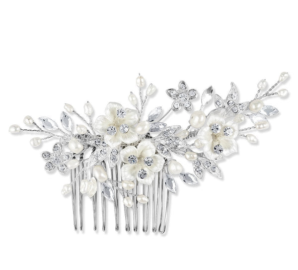 Petal Hair Comb-Starlet Jewellery