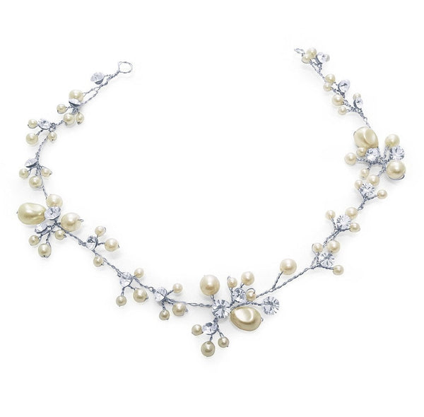 Betsy Silver Hair Vine-Starlet Jewellery