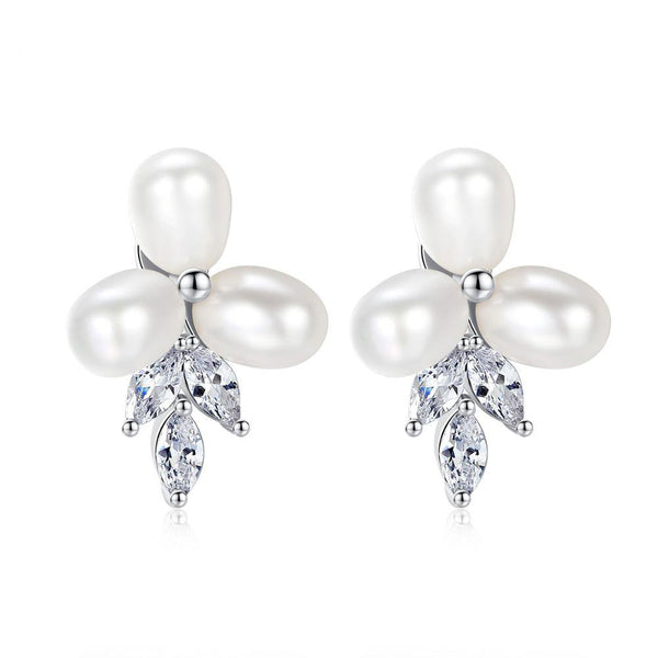 Starlet freshwater Pearl Studs-Starlet Jewellery