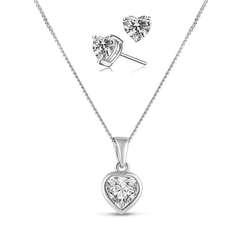 Valentine Pendant Set (discount as a set)-Starlet Jewellery