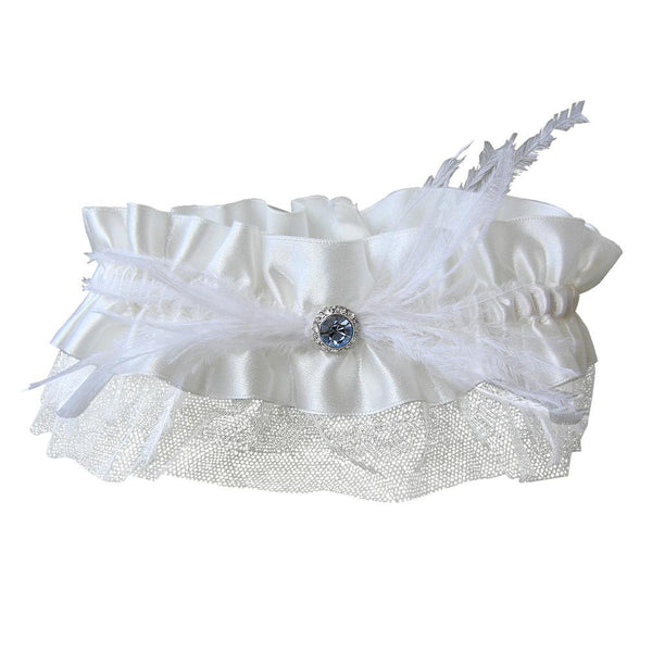 Vintage Blue Garter (best seller)-Starlet Jewellery