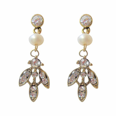 Paris Earrings Gold-Starlet Jewellery