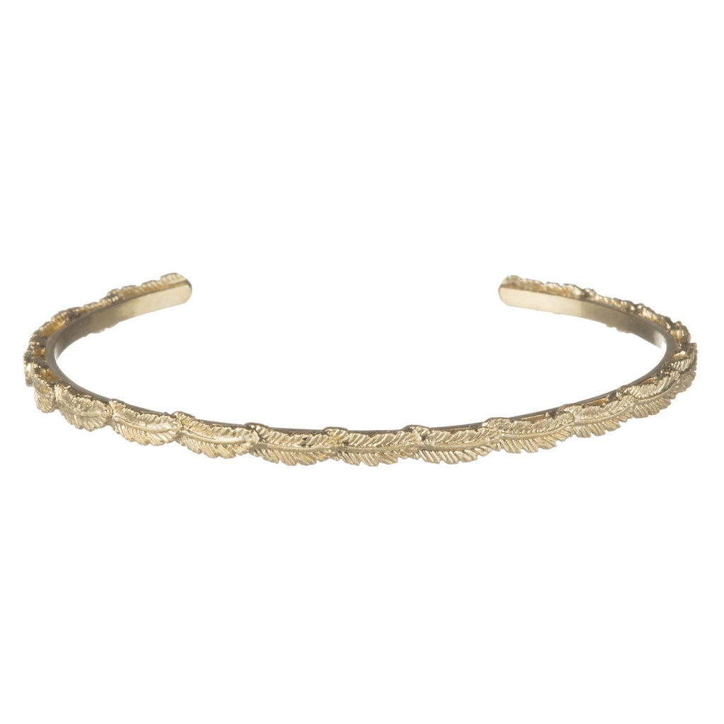 Armband Goud | Mini Feather Slave - Papita.nl