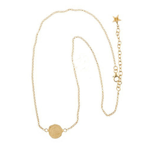 Ten Cent Necklace | Zilver/Goud - Papita.nl