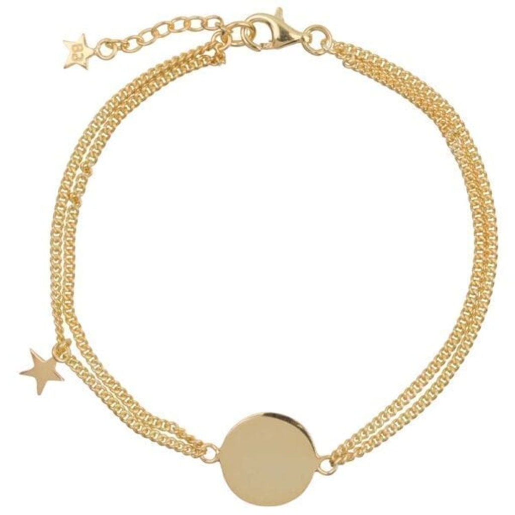 Double chain Armband | Mama Ster Goud - Papita.nl