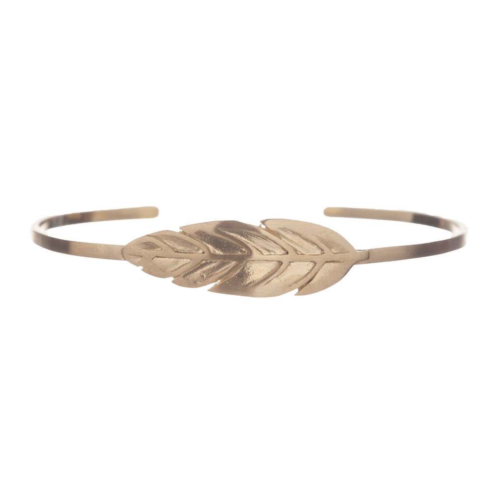 Armband | Indian Feather Goud - Papita.nl