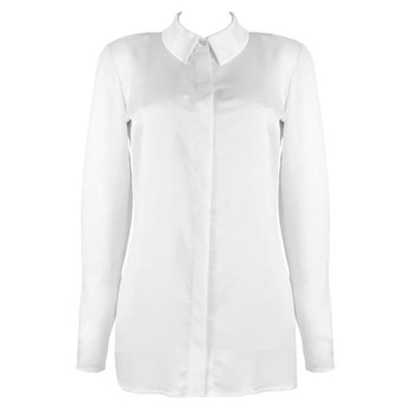 Blouse wit - shining white - Papita.nl