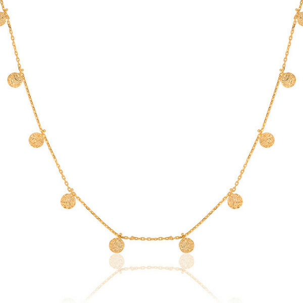 Ketting | Fancy Coins Goud