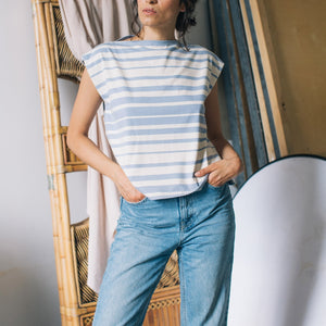 Shirt | Summer Stripes - Papita.nl