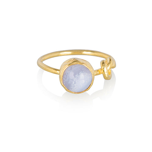 Ring | A little more - Blauw - Papita.nl