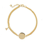 Double chain Armband | Dochter Hart Goud - Papita.nl