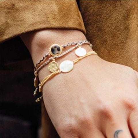 Armband | Old Coins goud