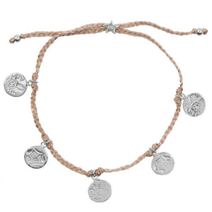 Armband | Old Coins zilver - Papita.nl