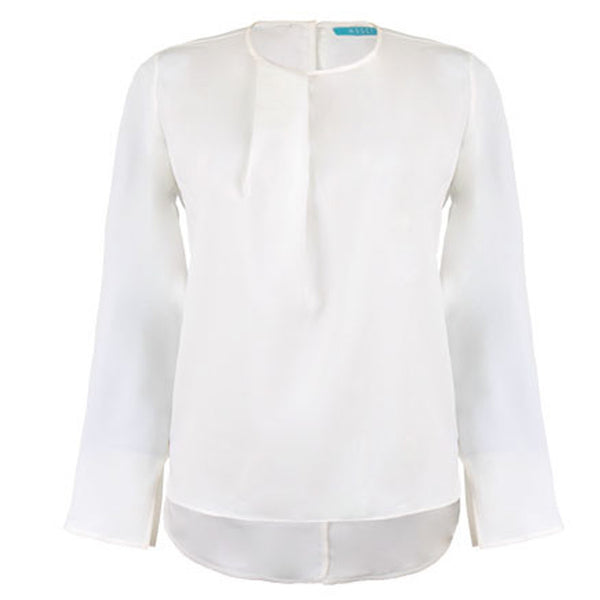 Blouse | Touch of White - Papita.nl