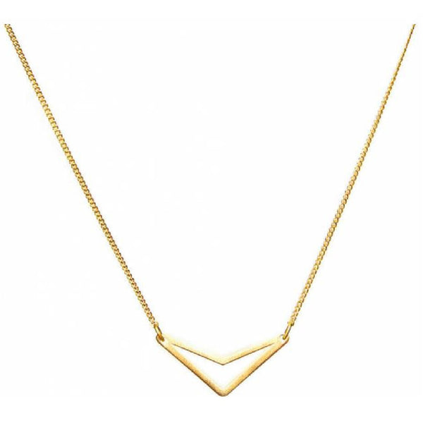 Ketting | Triangle Goud